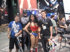 SDCCI, Batman and Wonderwoman