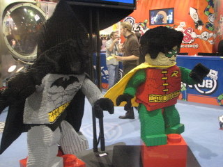 SDCCI, Lego Batman and Robin