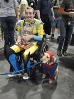SDCCI, Wolverine & Spider Dog