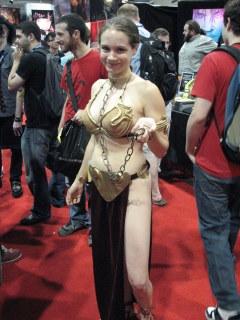 SDCCI, Slavegirl Leia