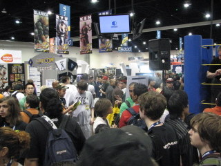 SDCCI, Gaming Crowd