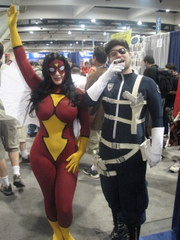 SDCCI, SpiderWoman & Nick Fury