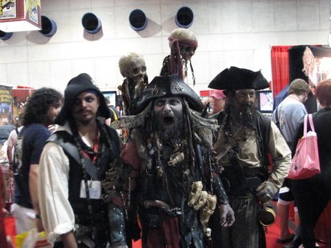 2009 SDCC Pirates