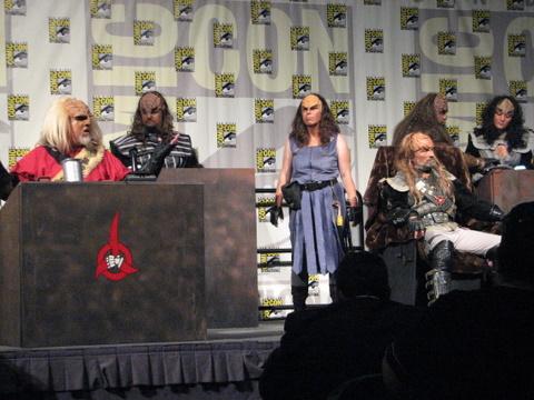 2009 SDCC Klingon Lifestyles