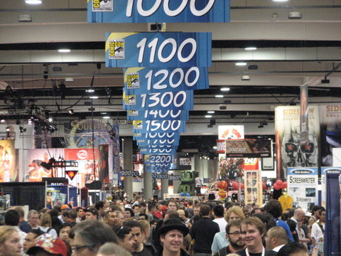 2009 SDCC Crowds